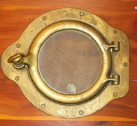 "Porthole from the Steamship ""Oriental"""